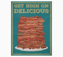 Get High on Bacon Kids Tee