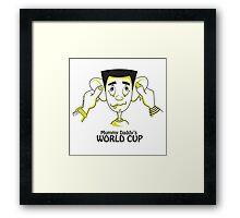 Mummy Daddy's World cup Framed Print
