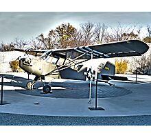 Aeronca L-3 WWII Plane Photographic Print