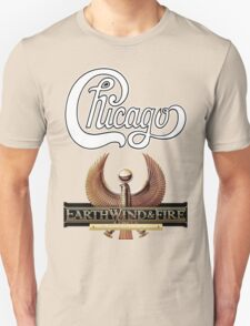 chicago earth wind fire Tour 2 Unisex T-Shirt
