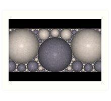 Kleinian Marble Frieze II Art Print