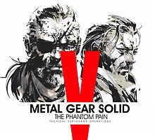 Metal Gear Solid V The Phantom Pain by ilovemubs