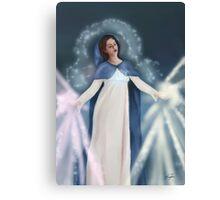 Saint Mary - Rays of Healing Canvas Print