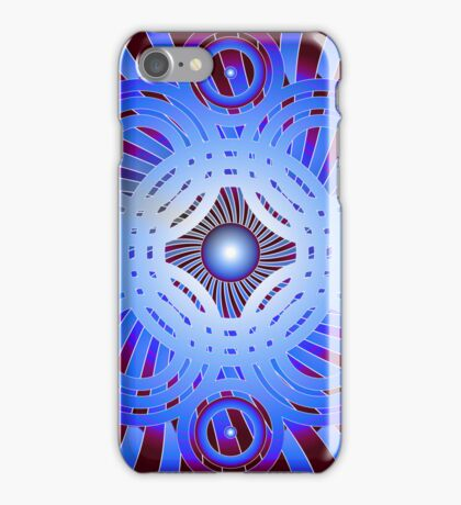 Abstract / Psychedelic Circles iPhone Case/Skin