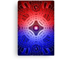 Abstract / Psychedelic Circles Canvas Print
