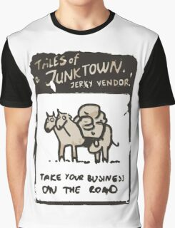 Junktown Jerky Vendor - On The Road- Fallout 4 Graphic T-Shirt