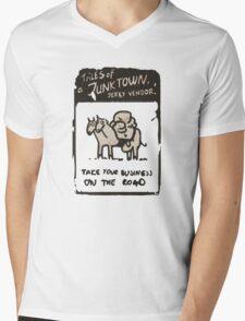 Junktown Jerky Vendor - On The Road- Fallout 4 Mens V-Neck T-Shirt