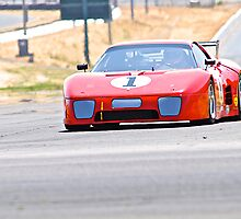 Vintage Ferrari by DaveKoontz
