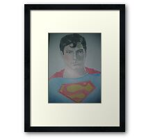 Superman  Framed Print
