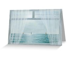 MORNING WINDOW by Diane Romanello Greeting Card