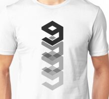 9gag (fading logo) Unisex T-Shirt