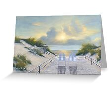 EAST END by Diane Romanello Greeting Card