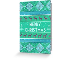 Merry Christmas II Greeting Card