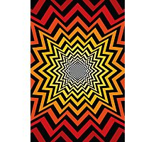 Radial Explosion Pattern Photographic Print