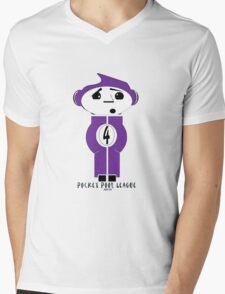 Pocket Pool League (Purple Ball) Mens V-Neck T-Shirt