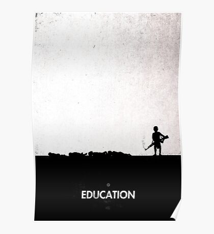 99 Steps of Progress - Education Poster