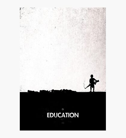 99 Steps of Progress - Education Photographic Print