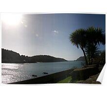 View across Salcombe estuary, Devon, UK Poster