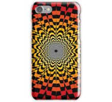 Abstract / Psychedelic Sunburst Pattern iPhone Case/Skin