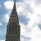 Chrysler Building by Abi Skeates
