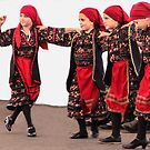 Little Greek Dancers by Heather Friedman