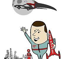 Red Rocket Ad  by HeySteve
