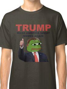 Donald Trump Pepe Frog Classic T-Shirt