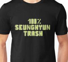 100% Seunghyun (T.O.P) trash Unisex T-Shirt