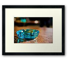 Bremen - Ash Tray Framed Print