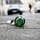 Street - Becks Bottle by A.David Holloway
