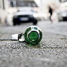 Street - Becks Bottle by A.David Holloway