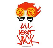 ALL ABOUT JACK Photographic Print