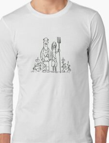 Wasteland Survival Guide - Farming - Fallout 4 Long Sleeve T-Shirt
