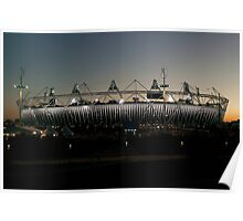 Olympic Stadium Afterglow Poster