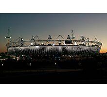 Olympic Stadium Afterglow Photographic Print