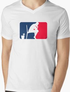 The Sport of Thinking by Tai's Tees Mens V-Neck T-Shirt