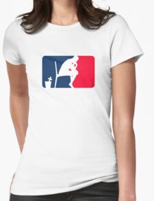The Sport of Thinking by Tai's Tees Womens Fitted T-Shirt