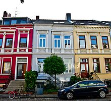 German Row Houses in Bremen by A.David Holloway