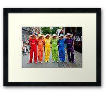 Hamburg Pride Parade Framed Print