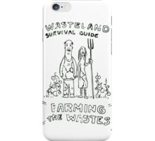 Wasteland Survival Guide - Farming Cover - Fallout 4 iPhone Case/Skin