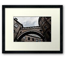 Bremen Landsgericht Framed Print