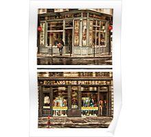 Le Marais - Boulangerie Patisserie Poster