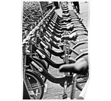 London Bicycles Poster