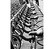 London Bicycles Photographic Print