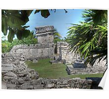 TULUM, WALLED CITY Poster