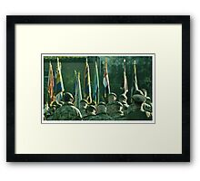 Respect for the fallen Framed Print