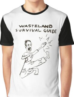 Wasteland Survival Guide - Cover - Fallout 4 Graphic T-Shirt