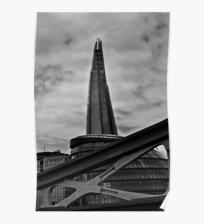 London Buildings Poster