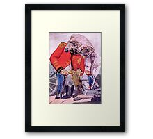 Okay Sir! We Will Load the Canon & Kill some people. Framed Print
