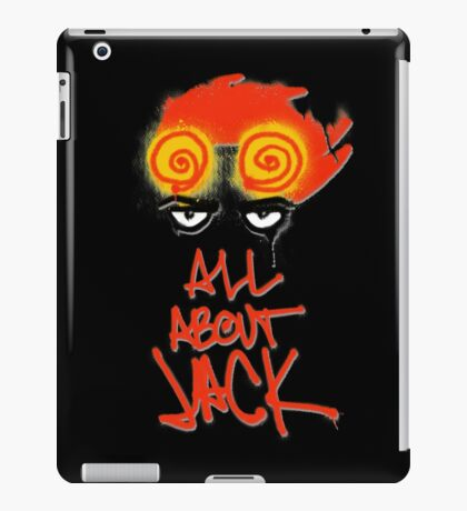 ALL ABOUT JACK-BLACK iPad Case/Skin